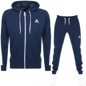 Money Classic Retro Hooded Tracksuit Navy